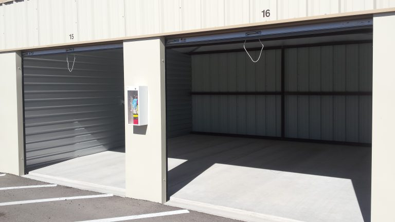 Storage Units with Electricity